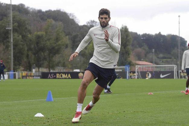 Roma-Benevento 1-1, Fazio (LaPresse)