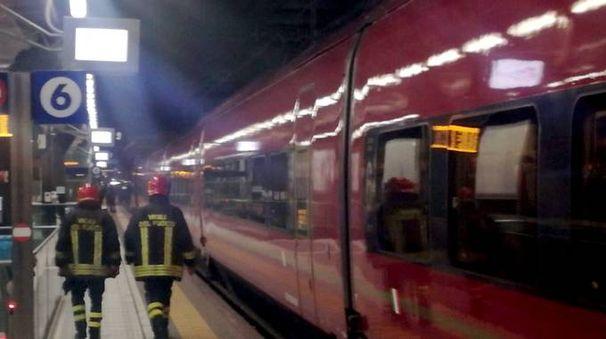 I vigili del fuoco sul luogo della tragedia (Spf)