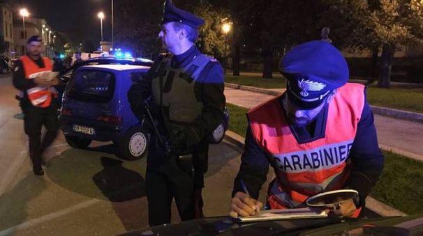 I carabinieri sono intervenuti per il sopralluogo