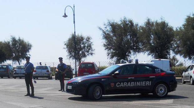 Carabinieri a Numana