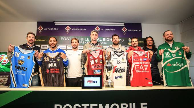 Basket, Final Eight di Coppa Italia: gli otto capitani (Germogli)