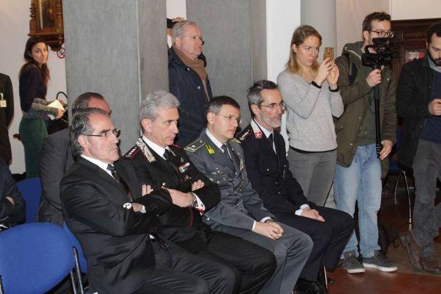 Il ministro Marco Minniti a Firenze per il 'Patto Firenze sicura'  (Foto Umberto Visintini/New Press Photo)