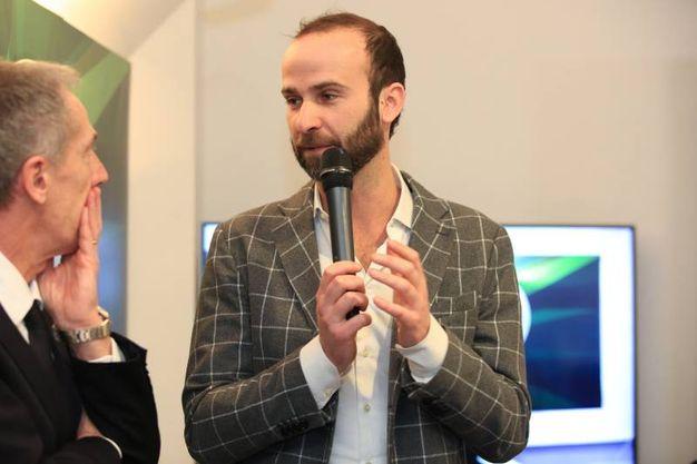 Basket, la presentazione della Final Eight di Coppa Italia a Firenze. L'assessore comunale allo sport, Andrea Vannucci (Germogli)
