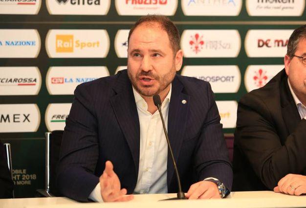 Basket, la presentazione della Final Eight di Coppa Italia a Firenze: Andrea Diana: coach della Germani Basket Brescia  (Germogli)