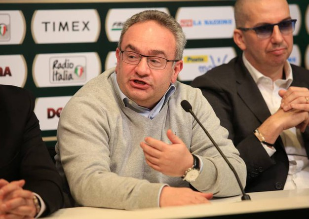 Basket, la presentazione della Final Eight di Coppa Italia a Firenze: Stefano Sacripanti: coach della Sidigas Avellino   (Germogli)