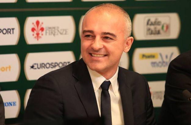 Basket, la presentazione della Final Eight di Coppa Italia a Firenze: Marco Sodini, coach della Red October MIA Cantù (Germogli)