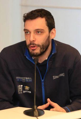 Basket, la presentazione della Final Eight di Coppa Italia a Firenze (Germogli): Paolo Galbiati, coach della Fiat Torino