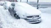Neve sull'Italia (Instagram)