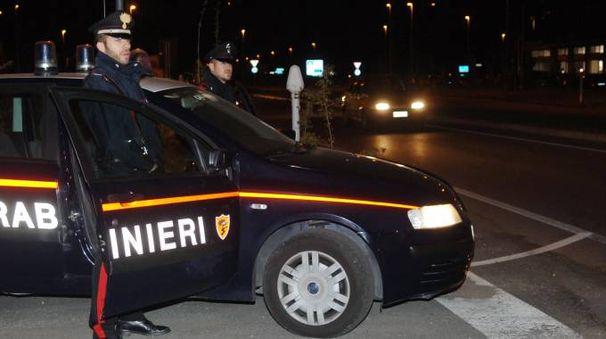 Il giovane è stato arrestato dai carabinieri