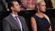 Donald jr e Vanessa Trump nel 2016 (Afp)