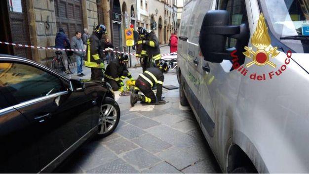 L'incidente in centro a Firenze