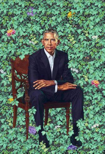 Il ritratto di Barack Obama (Ansa)