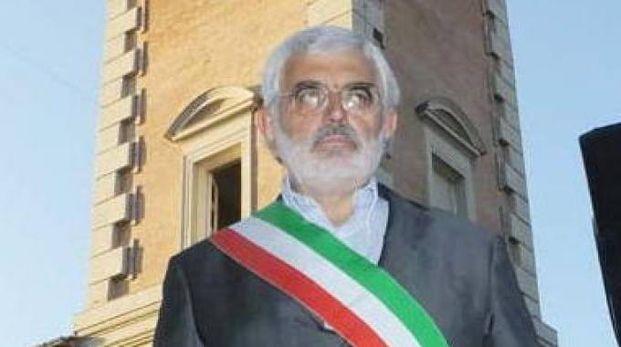 Il sindaco di Rolo Fabrizio Allegretti (foto Antonio Lecci)