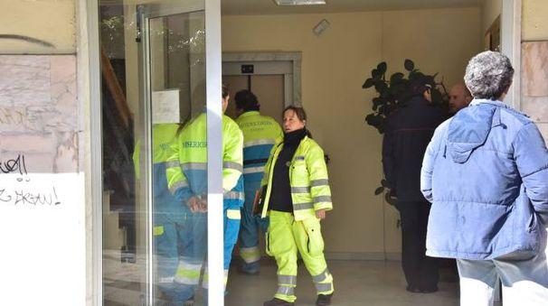 Donna morta in piazza Attias (Novi)