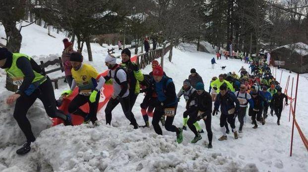 Un'iniziativa sportiva in Campigna