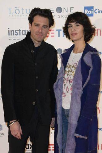Giampaolo Morelli e Gloria Bellicchi (Lapresse)