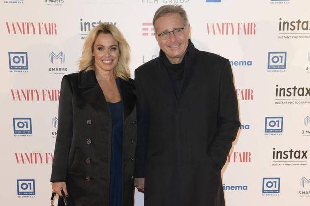 Sonia Bruganelli e Paolo Bonolis (Lapresse)