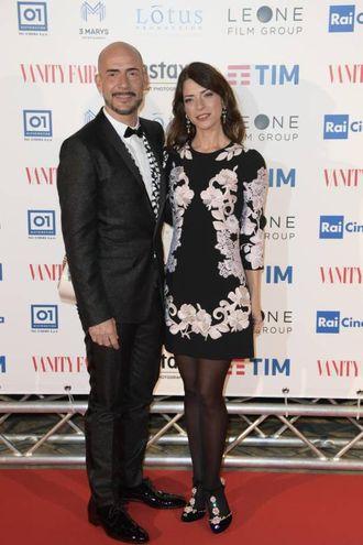 Gianmarco Tognazzi e Valeria Pintore (Lapresse)