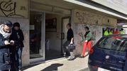 Omicidio-suicidio in uno studio medico dentistico a Livorno (foto Novi)