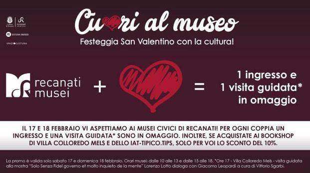 San Valentino a Recanati: tante iniziative culturali