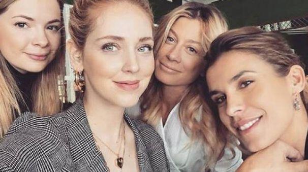 Chiara Ferragni, brunch tra amiche (Foto Instagram)
