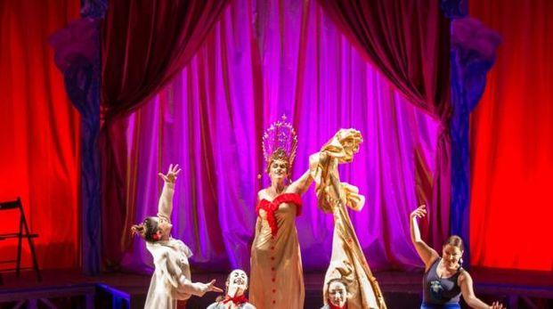 Una scena dell'opera
