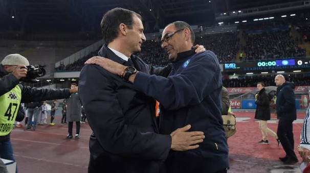 Massimiliano Allegri e Maurizio Sarri