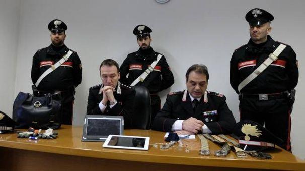 I carabinieri della Compagnia di Meldola (foto Frasca)