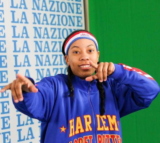 """Harlem Globetrotters alla Nazione: Bria """"Swish"""" Young (Germogli)"""
