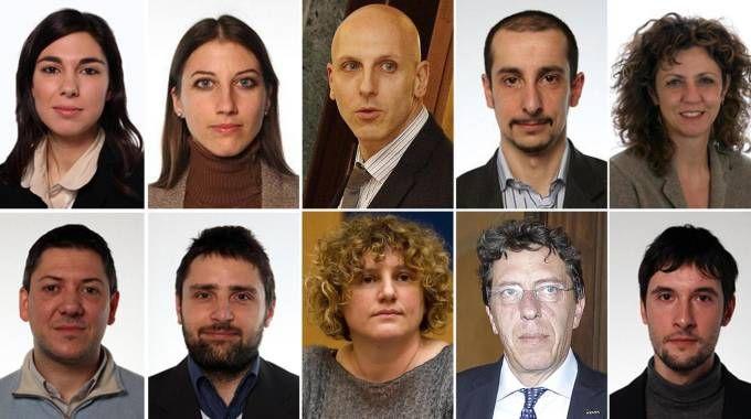 I dieci parlamentari M5s coinvolti nel caso rimborsi (Ansa)