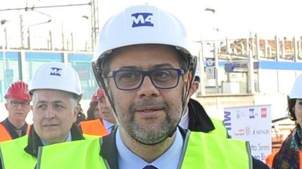 L'assessore comunale alla Mobilità Marco Granelli (NewPress)