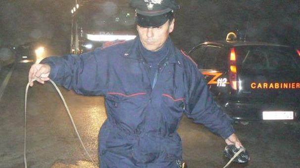 Rilievi dei carabinieri