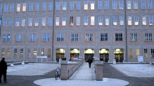 L'ospedale Santa Maria Nuova di Reggio Emilia (foto Artioli)