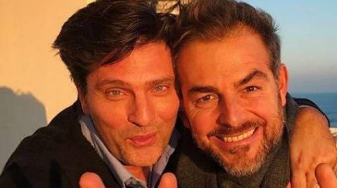 Lorenzo Flaherty e Daniele Bossari (Instagram)