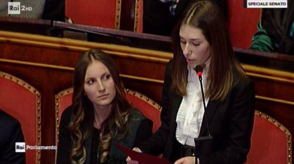 L'intervento al Senato delle studentesse del Dosso