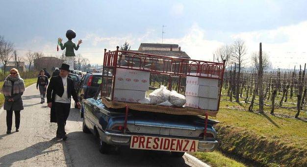 L'auto della 'Presidenza' (Scardovi)