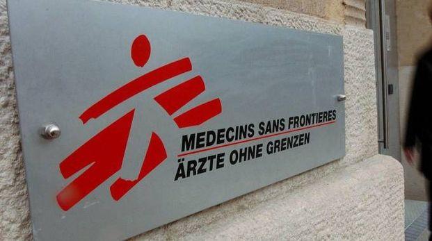 Medici senza Frontiere (foto Ansa)