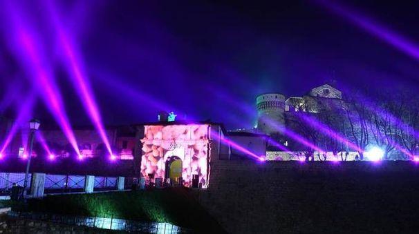 Festival delle luci di Brescia Foto @facebook.com/cidneon