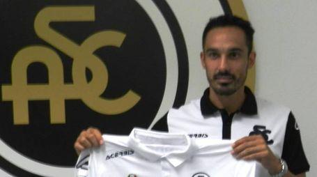 Francesco Bolzoni, alla sua prima stagione con la maglia bianca, proveniente dal Novara