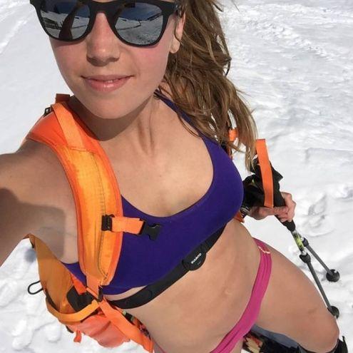 Laura Moisl storica fidanzata dell'austriaco Marcel Hirscher, oro nella combinata alle Olimpiadi coreana (Instagram)