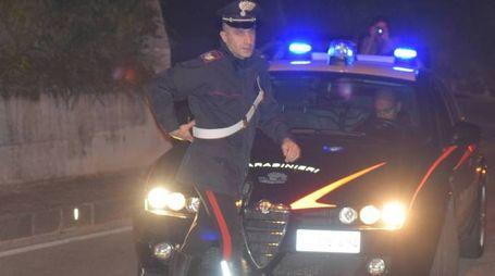 Il marocchino, 24enne, è stato arrestato dai carabinieri
