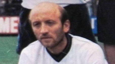 L'ex capitano delle Aquile Sergio Borgo ritratto nello storico campionato 1985-86 in C2