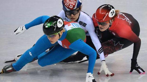 Olimpiadi invernali 2018, Arianna Fontana (Afp)