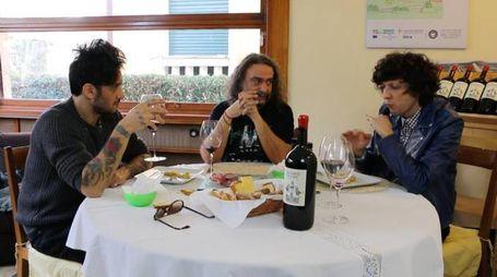 Ermal Meta e Fabrizio Moro a Casa Piceno