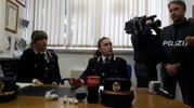 Pisa, la conferenza stampa dopo il blitz antidroga della polizia