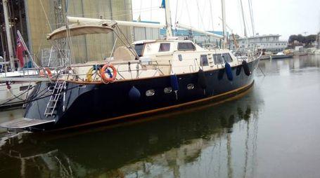 L'imbarcazione coinvolta