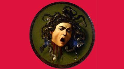 Uffizi, cremisi intenso per 'La Medusa' di Caravaggio
