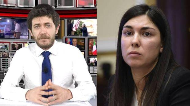 Bogdan Andrea Tibusche, l'ex fidanzato della deputata 5 Stelle Giulia Sarti (Ansa/ImagoE)