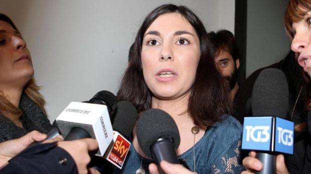 Giulia Sarti in una foto d'archivio Ansa