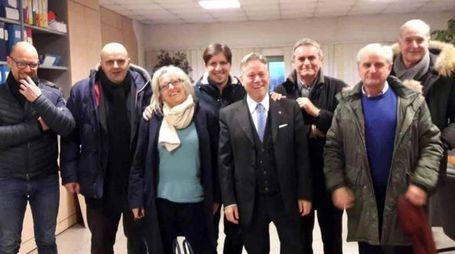I sindaci lunigianesi presenti all'ultima riunione dell'Unione. Si nota l'assenza di gran parte degli amministratori del Partito democratico